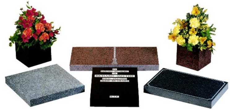 Stones for Cremation Plots